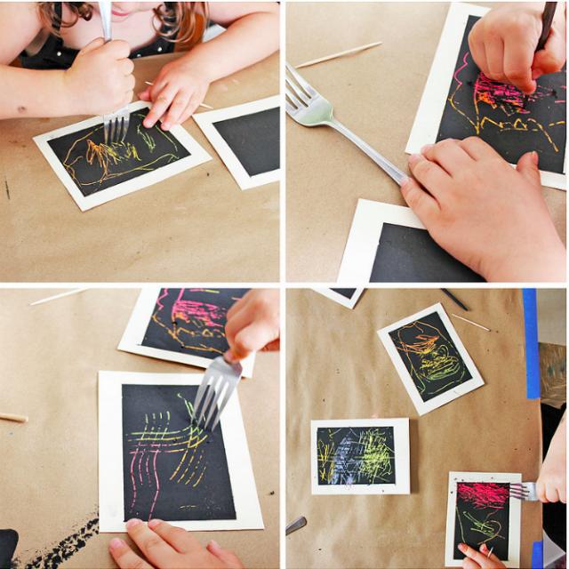 Tecniche Di Pittura Per Bambini 15 Idee Per Colorare Roba Da Donne