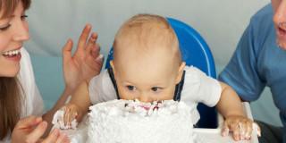 primo compleanno torta