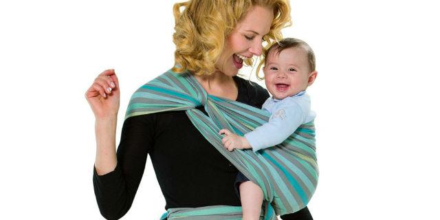 fascia porta bebè fai da te