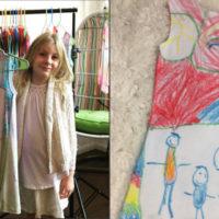 Fai disegnare a tua figlia il suo abito dei sogni e fallo diventare realtà. Ecco come