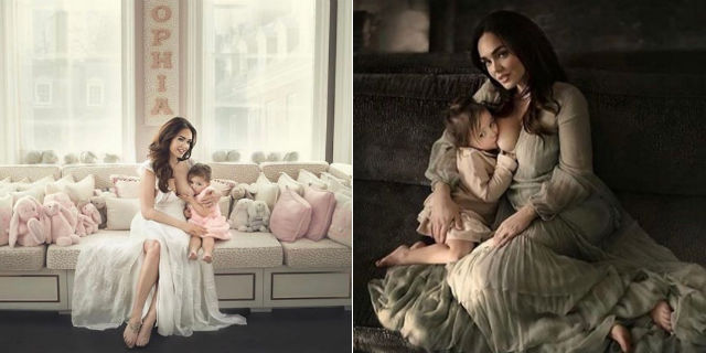 Tamara Ecclestone e le due foto Instagram mentre allatta la figlia di 3 anni (una per rispondere agli insulti)