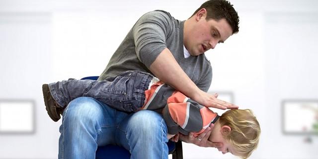 disostruzione pediatrica manovra di heimlich
