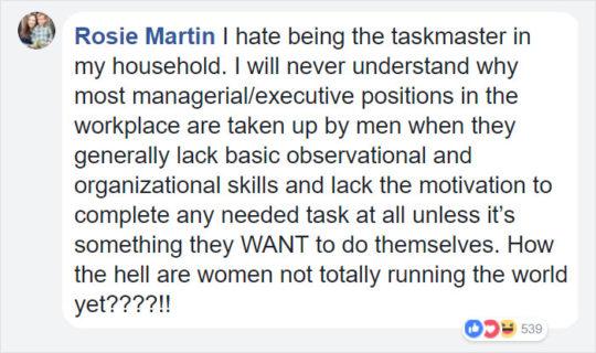 Stanca del compagno che non l'aiuta, una mamma di 4 figli ha scritto questo post