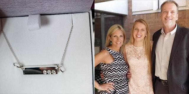 Perché una mamma separata ha trasformato la sua fede in una collana per la figlia