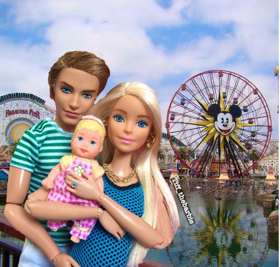 Siamo tutte mamme imperfette, tranne Barbie (o su Instagram mente?)