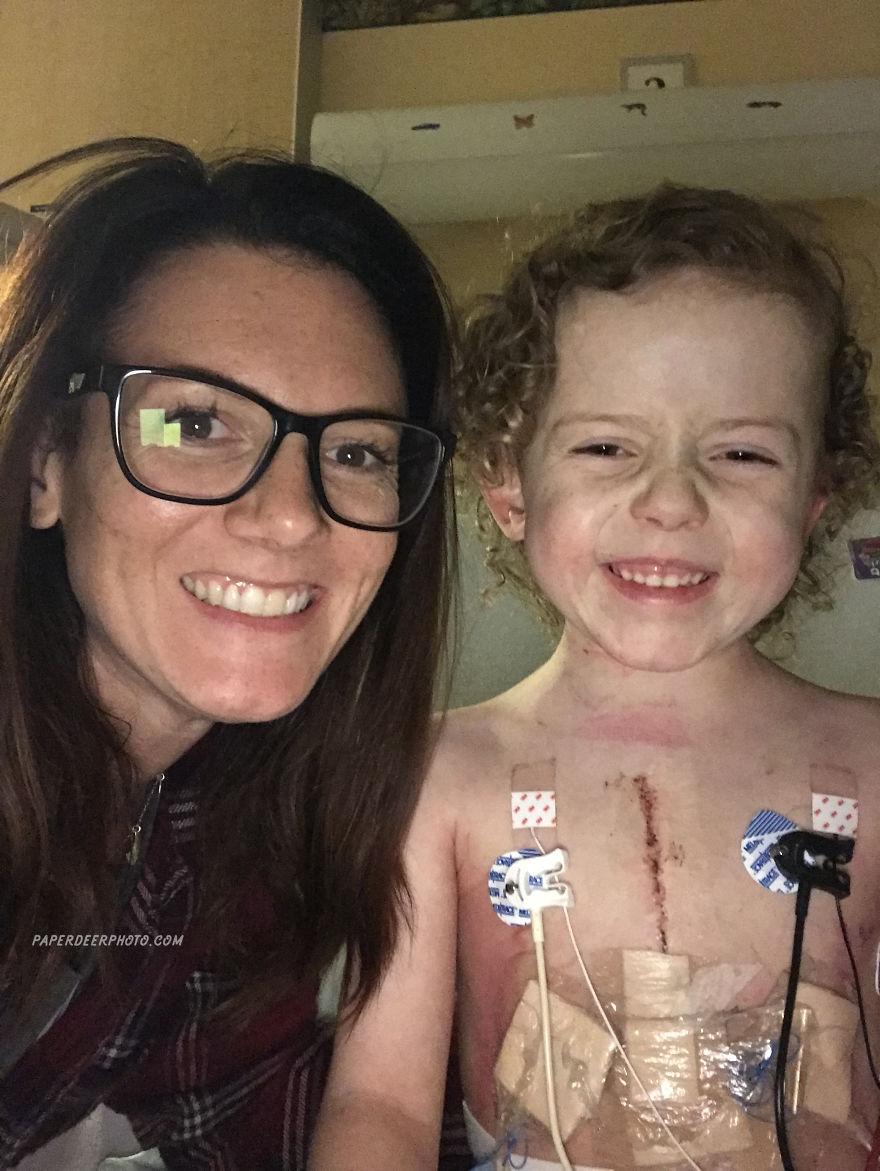 """""""La storia di nostro figlio di 4 anni e delle sue 3 operazioni a cuore aperto"""""""