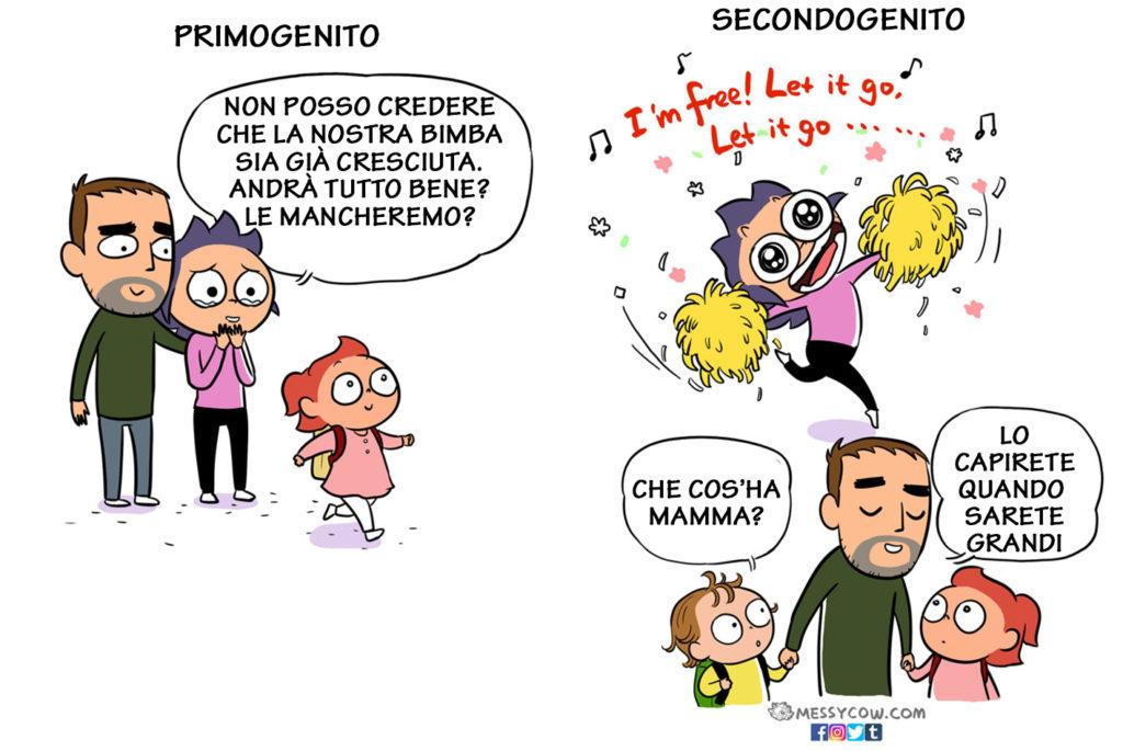 Le differenze tra il primo e il secondo figlio in 15 esilaranti illustrazioni