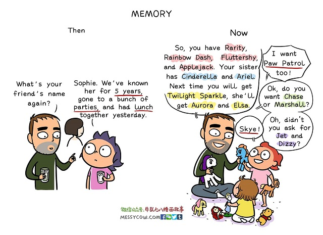 La vita di un papà prima e dopo aver avuto figli
