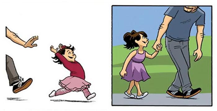 L'importanza del tempo passato con i figli in 9 immagini che vi faranno commuovere