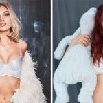 Dopo il parto ricrea le foto delle modelle: il risultato è bellissimo
