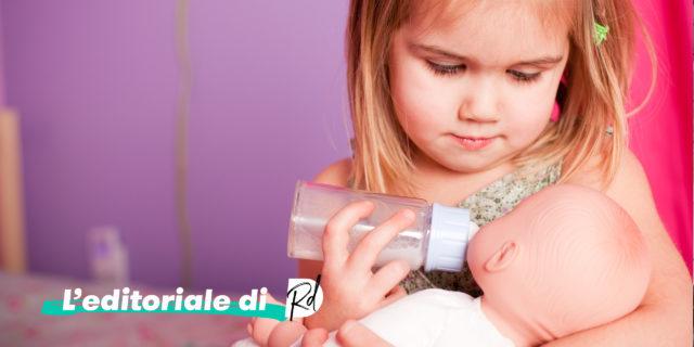 Se i bimbi disabili non meritano attenzione e i pannolini li cambiano le femmine