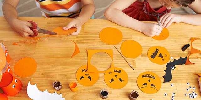 7 lavoretti per halloween semplici e creativi da fare con i bambini