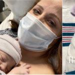 """È nata Joy, """"un burrito di amore"""": Clio MakeUp di nuovo mamma (con mascherina)"""