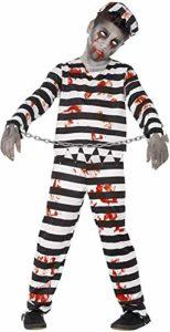 Smiffys Costume Zombie Detenuto
