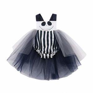 Costume per bambina a pagliaccetto