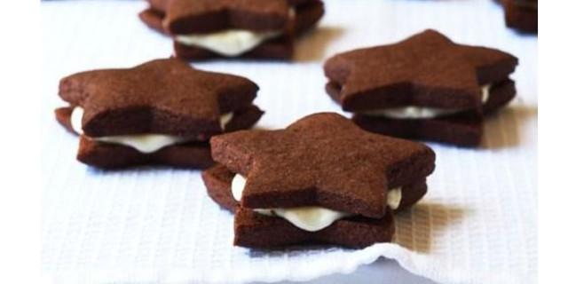 Stelle al cioccolato bianco