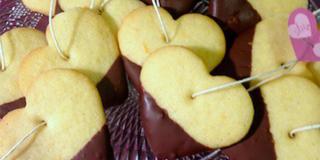 Biscotti di San Valentino… da inzuppare!