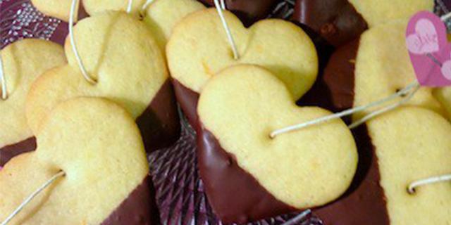Biscotti di San Valentino... da inzuppare!
