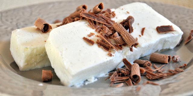 Semifreddo Ricotta e Cioccolato