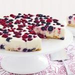 Torta Cheesecake ai Frutti di Bosco