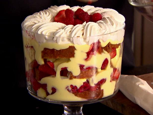 Red Jelly Cake Recipe: Ricetta Zuppa Inglese Con Frutti Di Bosco