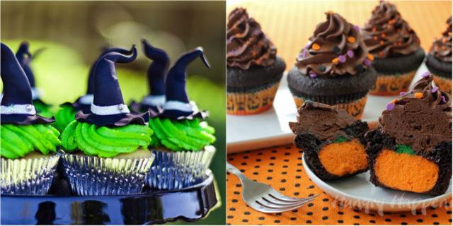 Halloween: 24 mostruose idee per bellissime cupcake da brivido