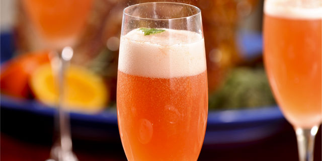 Aperitivo con Spumante Prosecco e Succo di Arancia