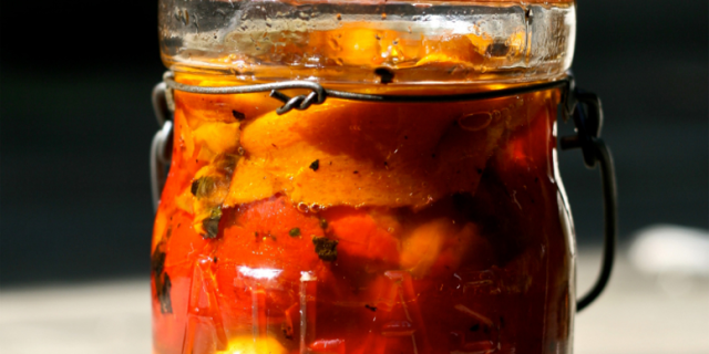 Conserva di Peperoni in Agrodolce