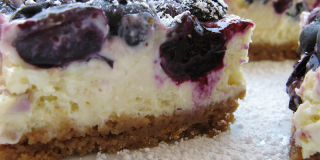 Cheesecake Blu ai Mirtilli
