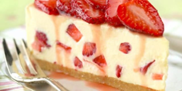 Cheesecake alle Fragole