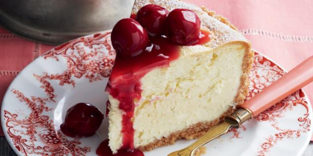 Cheesecake Cioccolato Bianco e Amarene