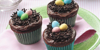 Cupcake a nido pasquale