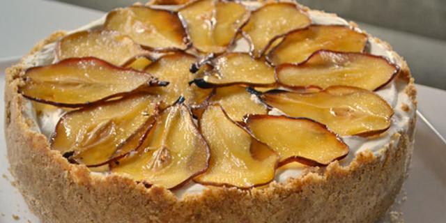 Cheesecake Ricotta e Pera