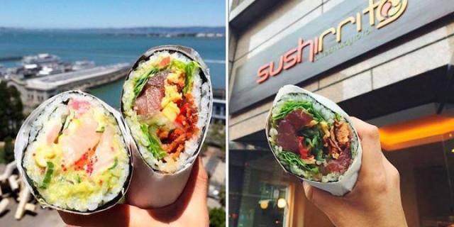Sushirrito: la Nuova Prelibatezza a Metà tra il Sushi e il Burrito