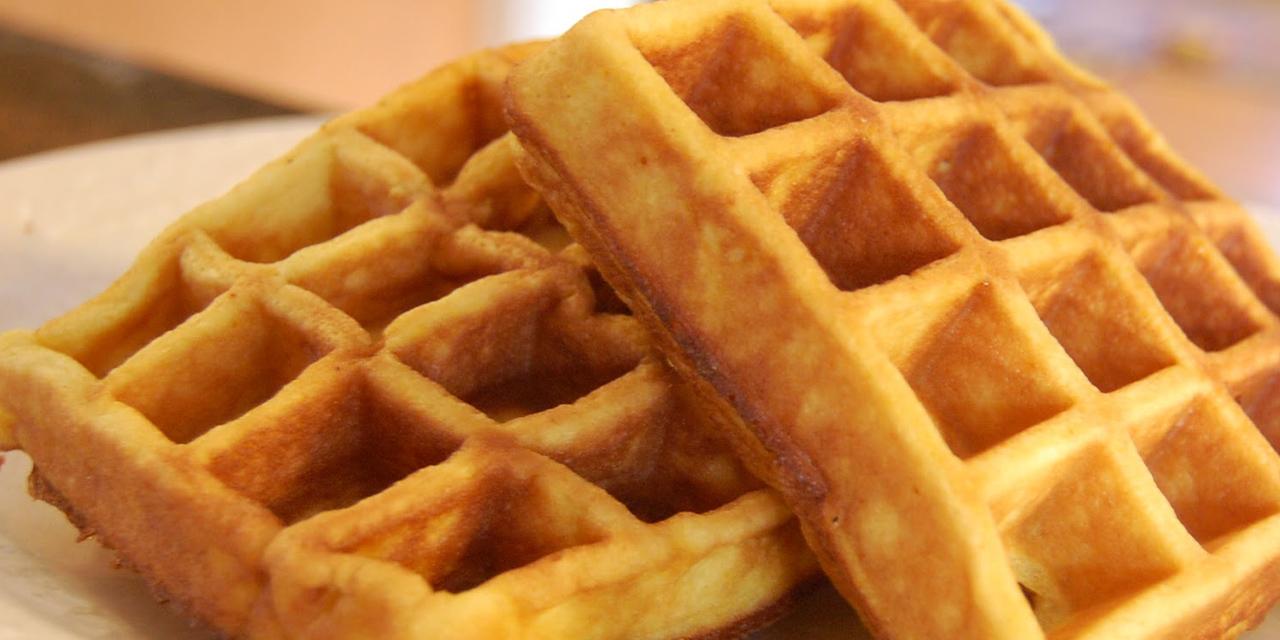 Ricetta Wafer Con Bimby.Ricetta Waffle Roba Da Donne