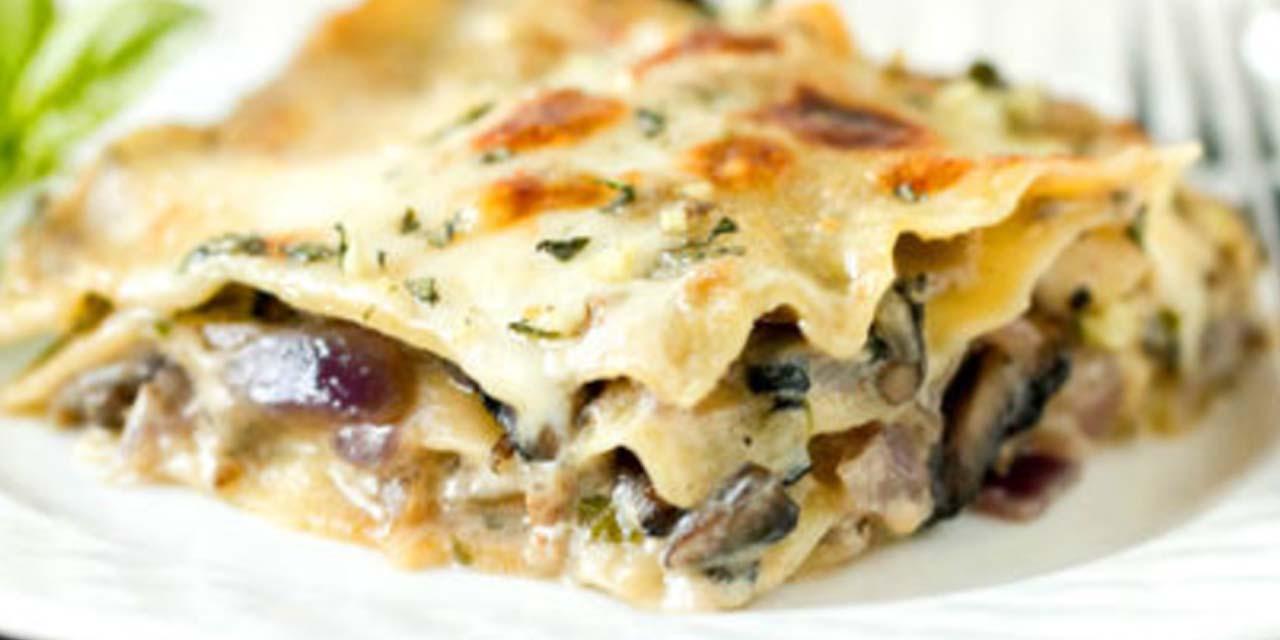 Ricetta lasagne ai funghi roba da donne for Ricette di cucina particolari