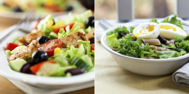 insalata schiscetta pausa pranzo