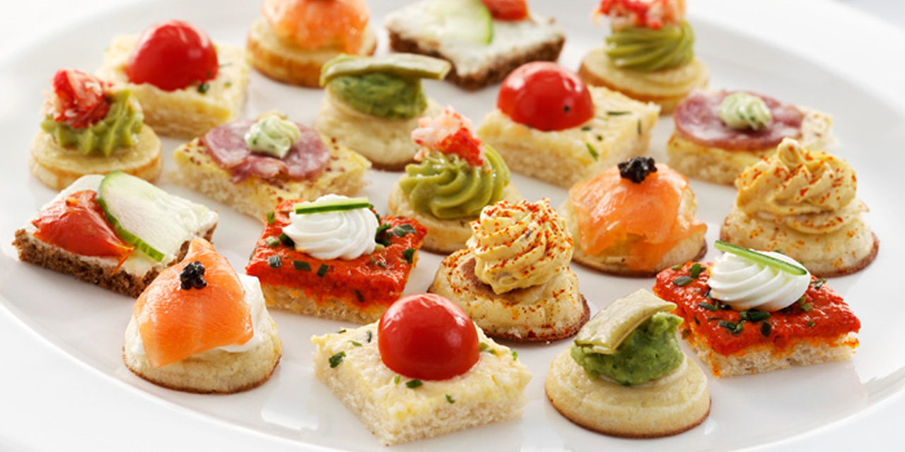 Ricetta canap roba da donne for Cold canape menu