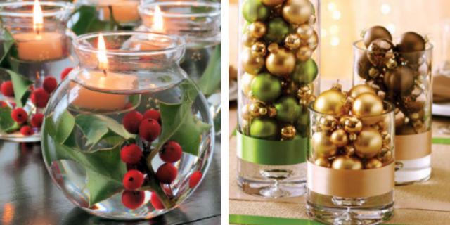 7 idee fai da te per decorare la tavola di natale roba for Decorazioni da tavolo natalizie