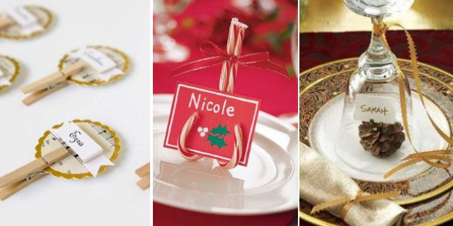 7 idee fai da te per decorare la tavola di natale roba - Decorazioni per la tavola ...