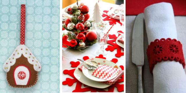 9 Idee Fai da Te per Decorare la Tavola di Natale