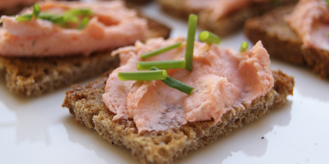 mousse al salmone capodanno