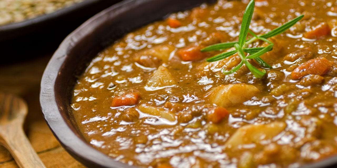 Ricetta zuppa di lenticchie roba da donne - Comidas deliciosas y saludables ...