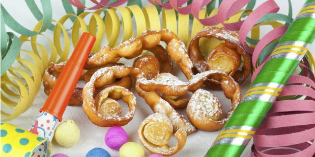 riccioli dolci carnevale