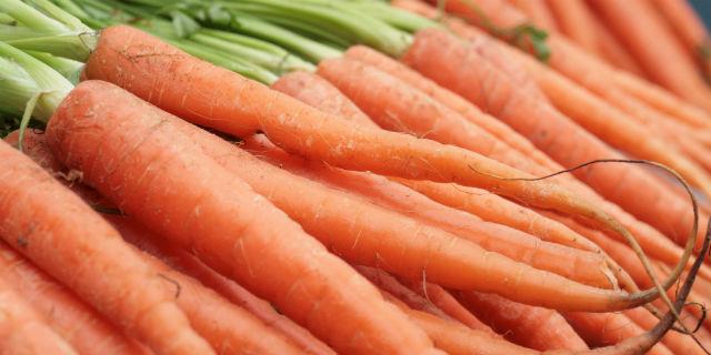Carote: un pieno di betacarotene