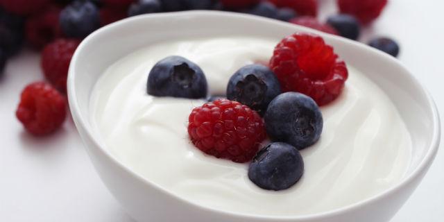 Yogurt magro come dessert