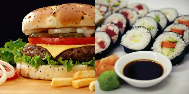 Stasera Sushi o Hamburger? D'Ora in Poi Potremo Averli Entrambi in Un'Unica Ricetta!