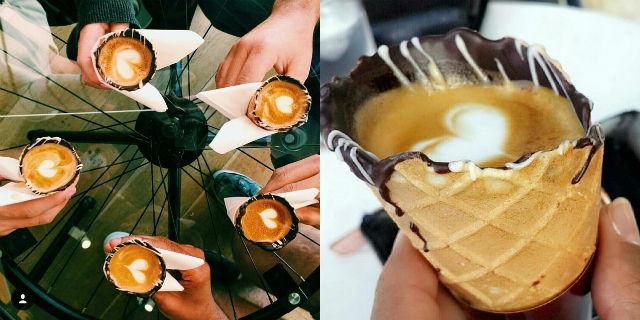 """""""Coffee In A Cone"""": La Creazione a Base di Caffè che Sta Spopolando sul Web!"""