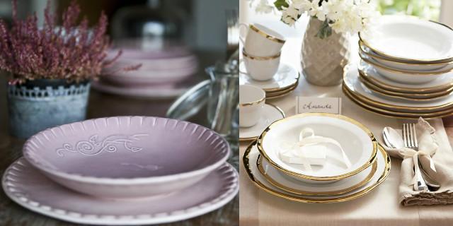Galateo a tavola: i piatti
