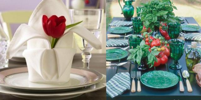 Galateo a tavola: i tovaglioli